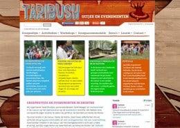 Drupal website voor Taribush